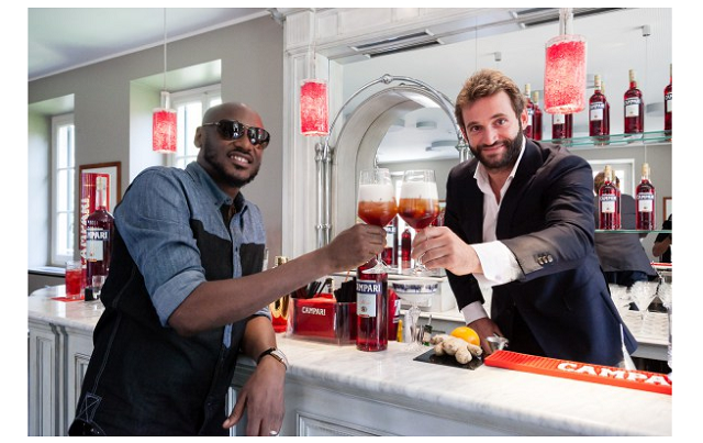 2Face Idibia hosted by Italian drink maker Gaspare Campari