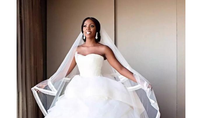Stunning Nigerian celebrity wedding gowns