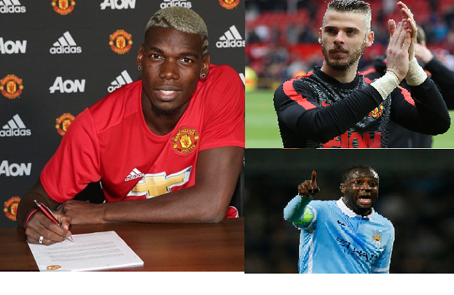 Highest paid players in the English Premier League