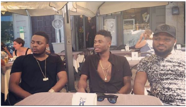 Lil Kesh & other YBNL crew take Italy by storm