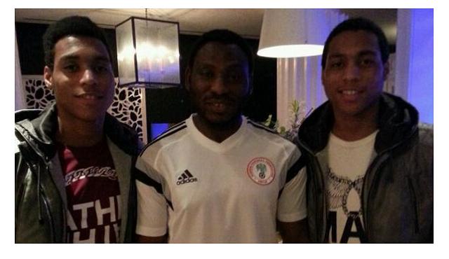 Daniel Amokachi's twin sons signed by top Turkish Club