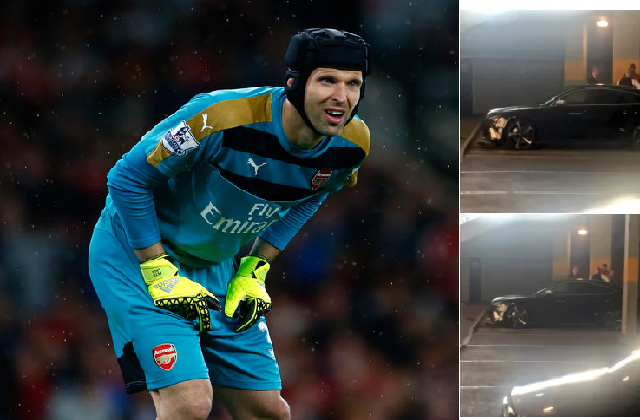 Petr Cech smashed his car after he conceded 4 goals