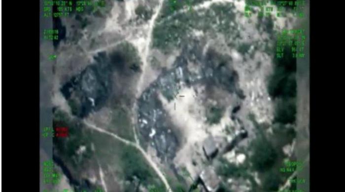 The air strikes that wounded Shekau