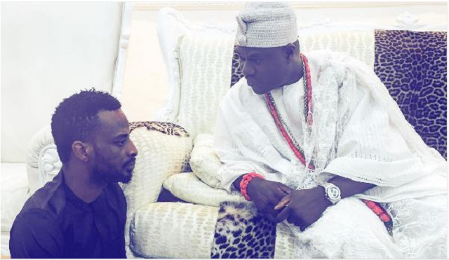 9ice pays Ooni of Ife a courtesy visit