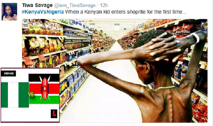 Tweets from the Kenyan vs Nigerian twitfight