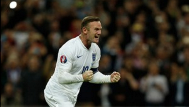 Wayne Rooney breaks England caps record