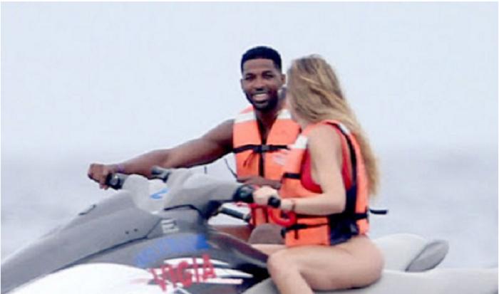 Khloe Kardashian and her new man Tristan Thompson