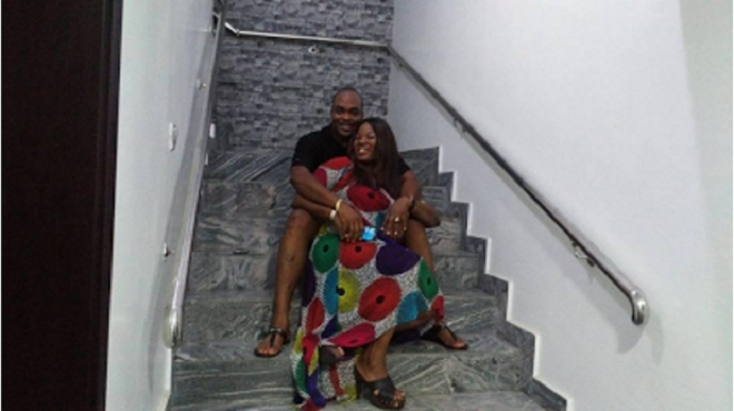 Emeka Ossai shows off his newly completed mansion
