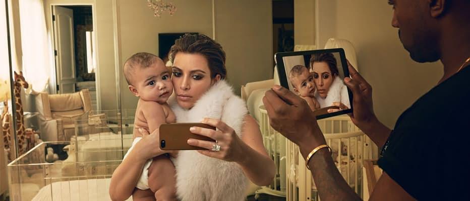 Photos that prove kim kardashian is the worst mother