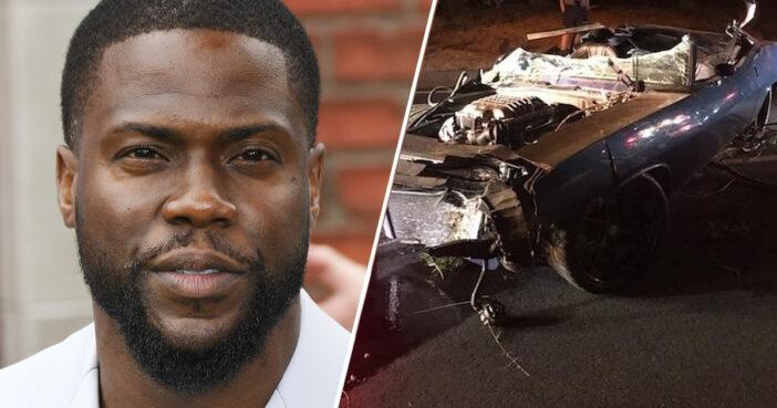 Kevin Hart's car crash