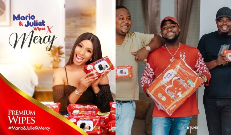 Mercy joins Davido's son Ifeanyi as she becomes brand Ambassador for Mario and Juliet