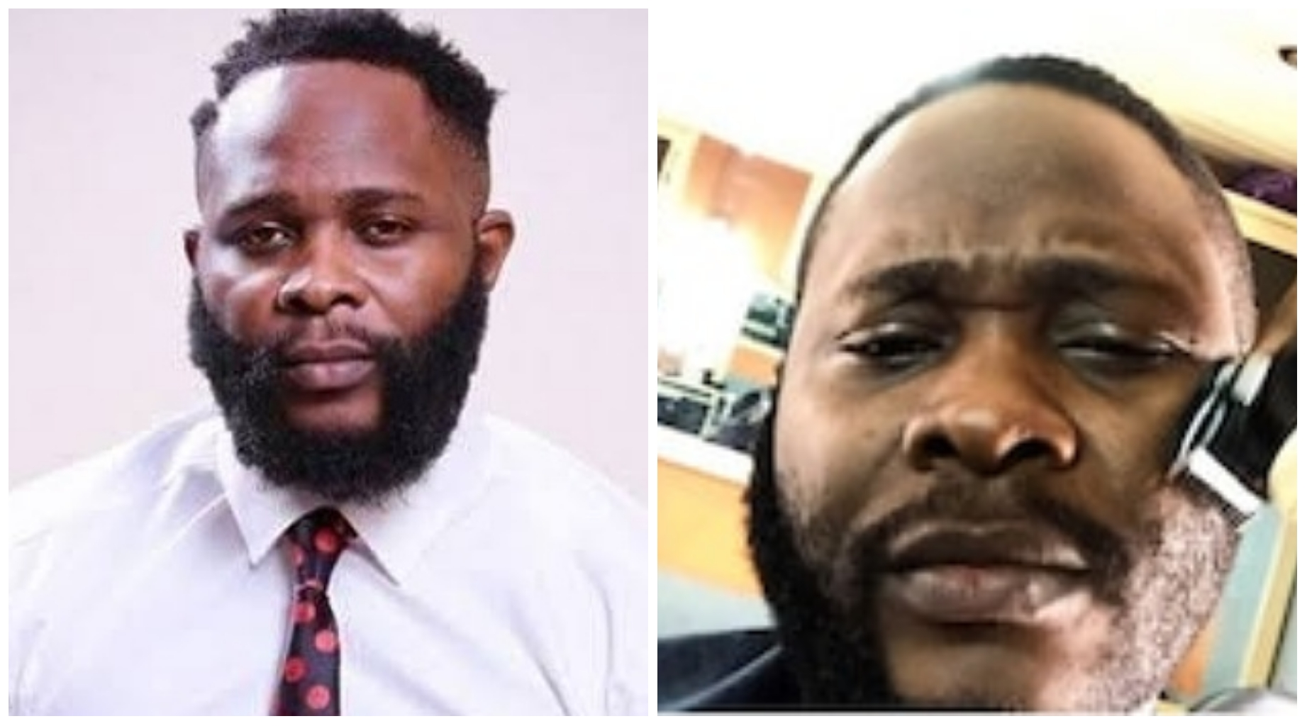 Image result for images of Joro Olumofin Shaves His Beards Over Fear Of Coronavirus