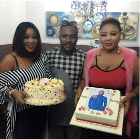 Segun Ogungbe and wives