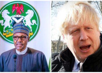 Buhari - Boris Johnson