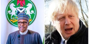 Buhari - Boris Johnson