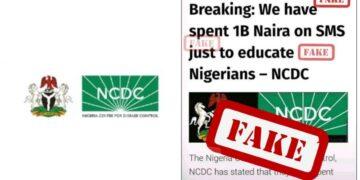 NCDC fake news