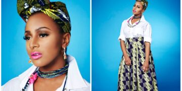 DJ Cuppy rocks dress