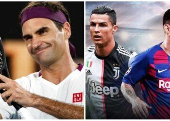 Federer, Ronaldo, Messi
