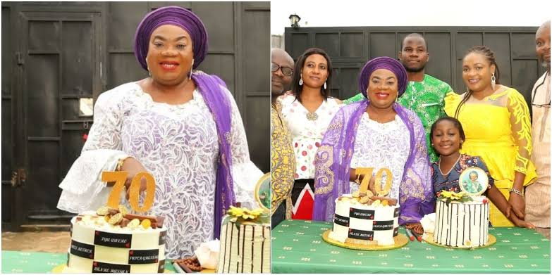 Nollywood veteran actor Tom Njemanze celebrate his 70TH