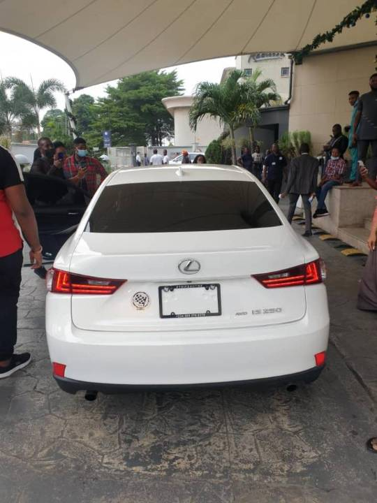 Korede Bello surprises his manager of 10-years with a brand new car to  celebrate his birthday (Photos) | Theinfong