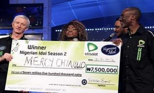 Mercy Chinwo Idol Nigeria
