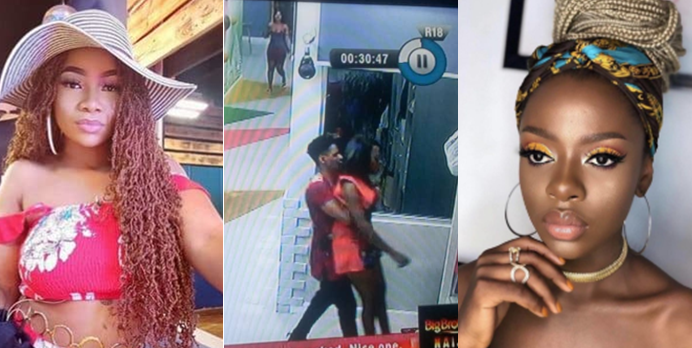 I'm not your mate, you can't even talk to me outside the house - Tacha to Diane (Video)