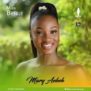 Miss Benue, Mary Aebeh