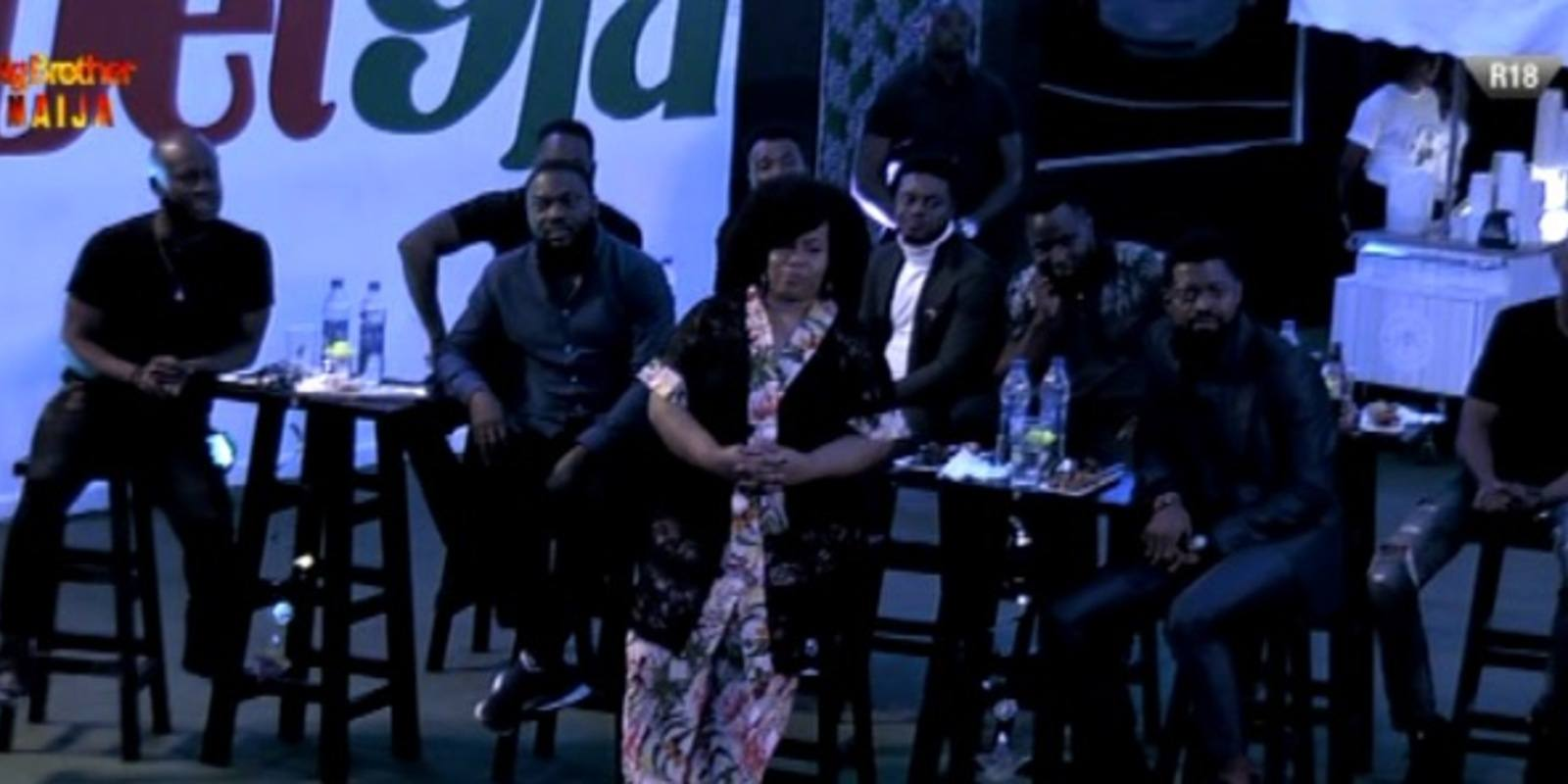 Chigul, Basketmouth, Buchi, and others visit housemates (video)