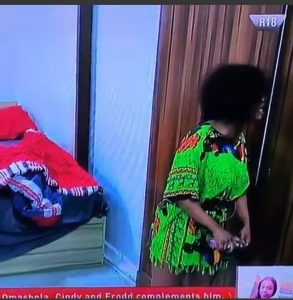 Tacha Using Perfume After Mercy Told Her She Is Smelling