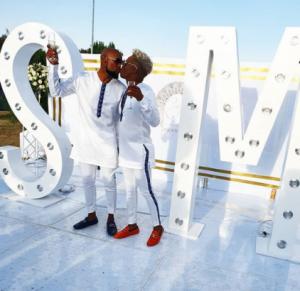 Gay media personality Somizi holds traditional wedding