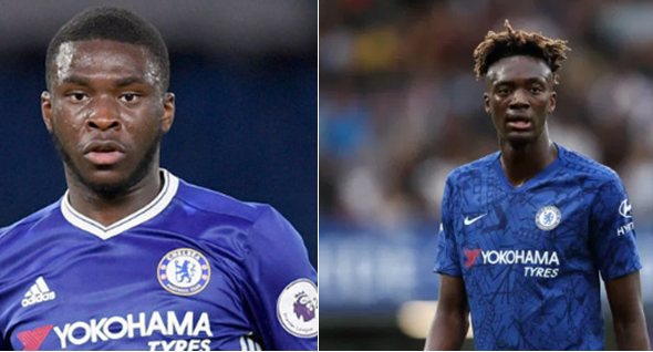 Chelsea duo, Tammy Abraham and Fikayo Tomori celebrate Nigeria's Independence (Photos)