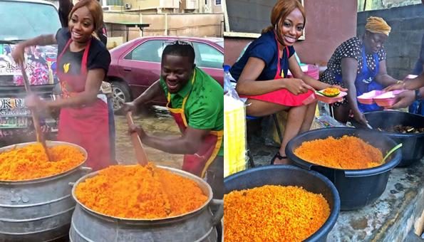 Khafi feeds 1,000 people to celebrate Independence Day