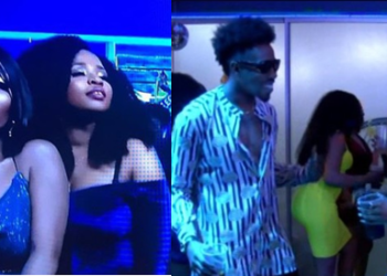 Evicted housemates party LIVE with top 5 finalists (Photos)