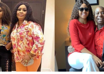 Outrage as Regina Daniels slaps her mother