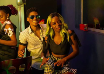 See what Elozonam and Diane were caught doing at last night's party (Video)