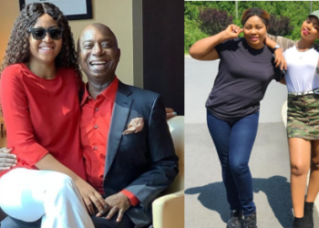 I prayed to God to let my daughters marry an old rich man – Regina Daniel's mum