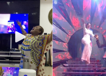 See Nigerians' reactions after Mercy won (Photos