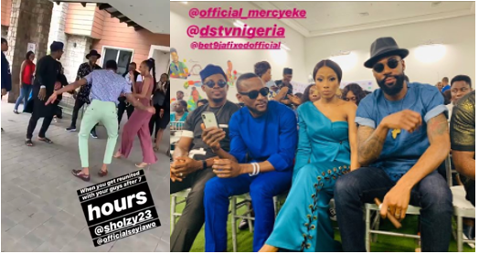 Top 5 finalists reunite in style as they receive their prizes (Photo)