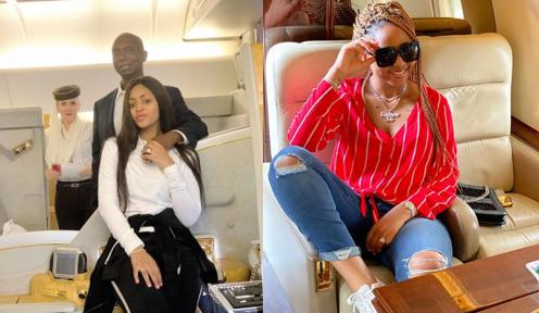 Regina Daniels and Billionaire husband, Ned Nwoko vacation in Dubai (video)