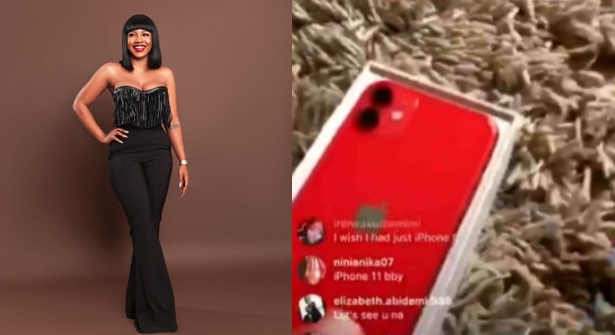 Tacha flaunts her new iPhone 11 (Video)