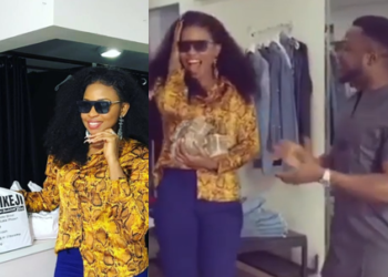 MC Galaxy gifts Cindy ₦1 million cash (Video)