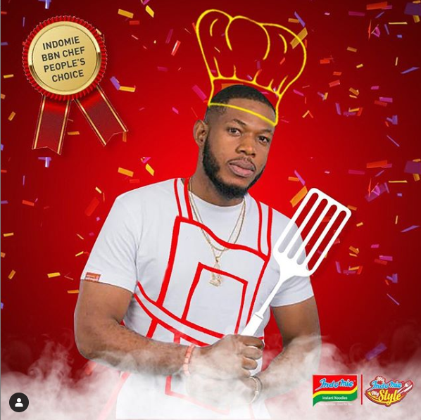 Frodd becomes the face of Indomie noodles