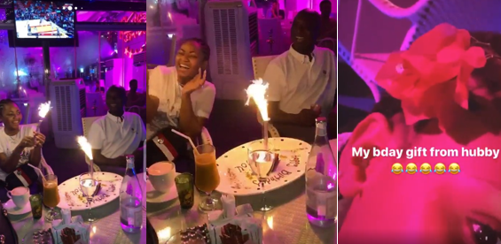 Regina Daniels' billionaire husband surprises her on her 19th birthday (PHOTOS)
