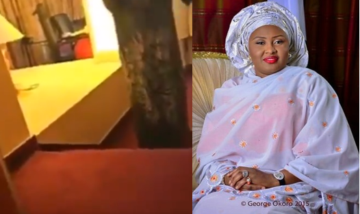 Aisha Buhari allegedly locked up in her room as Buhari set to marry new bride today (Video)