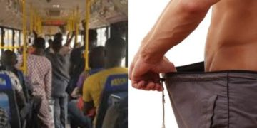 Lady attacked for allegedly stealing manhood of three men in BRT bus