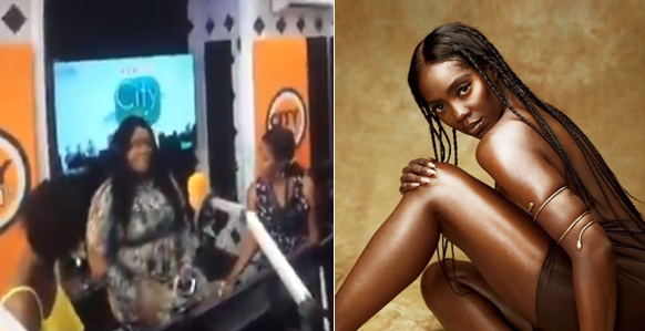 'Tiwa Savage is a fool that copies people's songs' - Leaked Video of City FM female OAPs bashing her