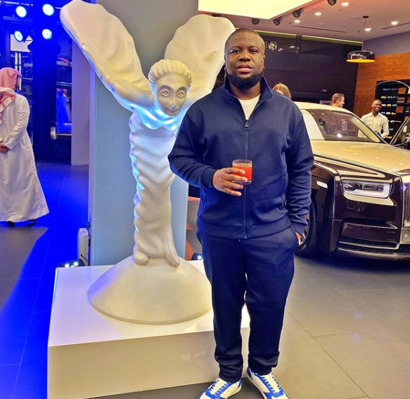 Hushpuppi celebrates himself as he turns a year older