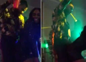 Mike and his wife set the dancefloor on fire (Video)