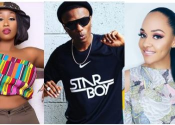 Victoria Kimani called out for sleeping with Wizkid while he was dating Tania Omotayo