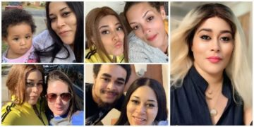 Adunni Ade shares picture of her all white twin sister, cousins, Lil Brother and Niece (PICS)